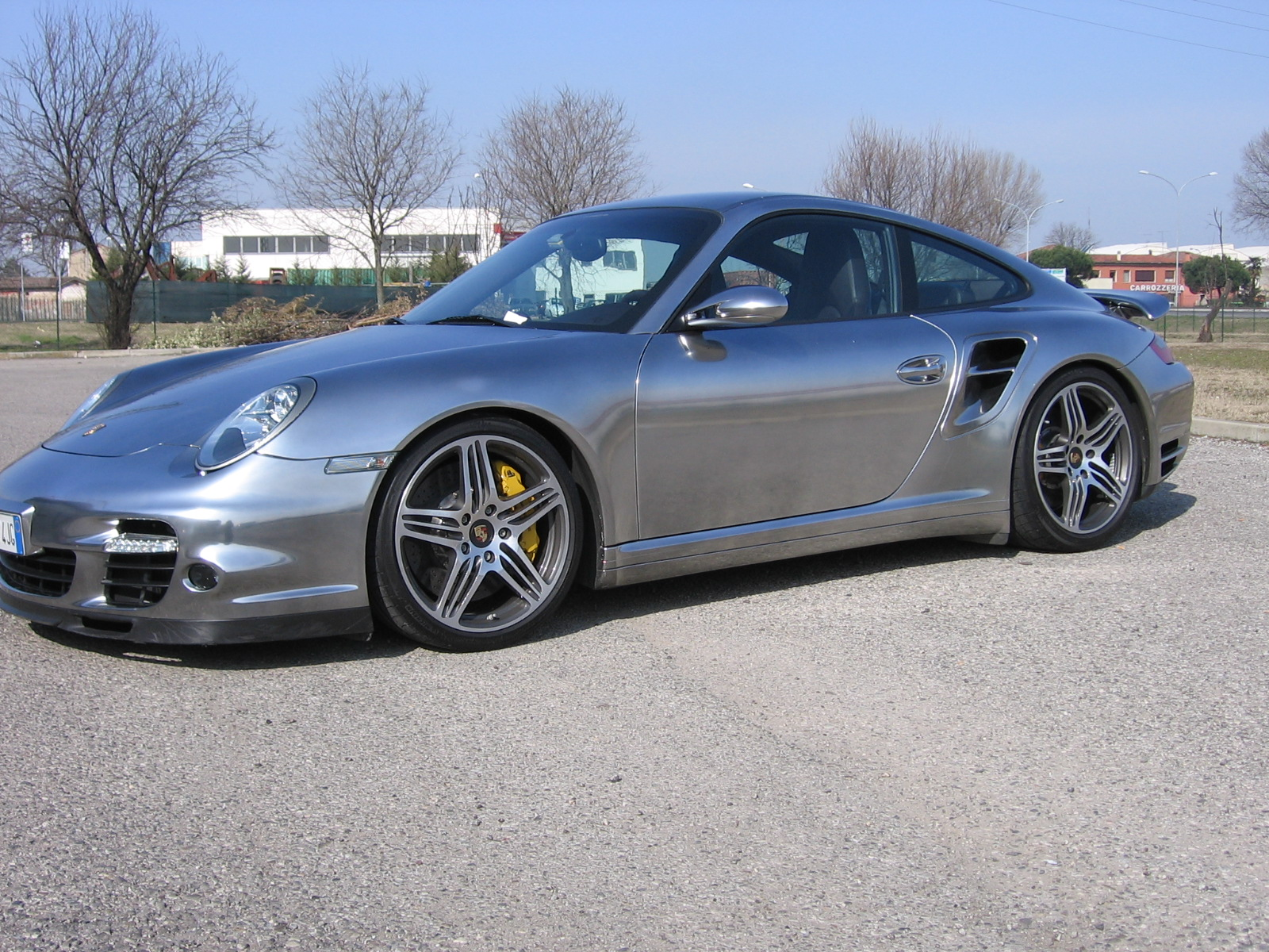 Porsche 997 Turbo cromata